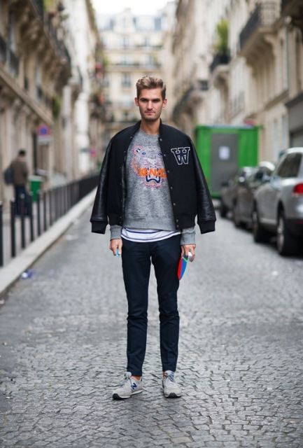 gray sneakers outfit cheap online