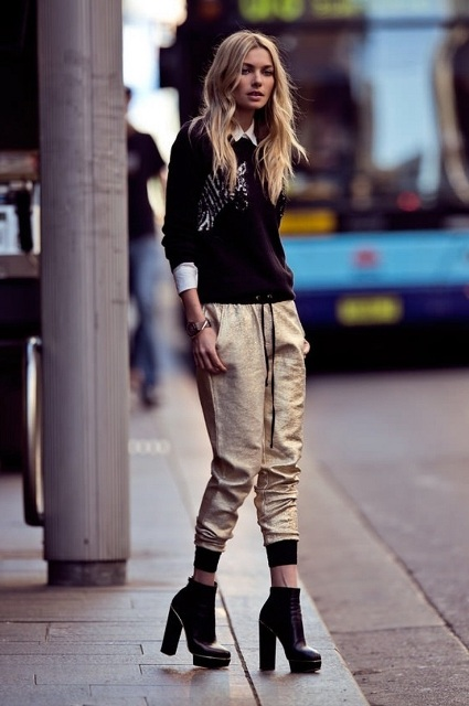 picture 18 Outfits With Suede Mules For Fashionable Women