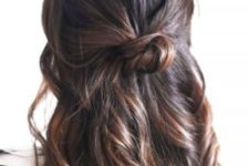 messy party hairstyle