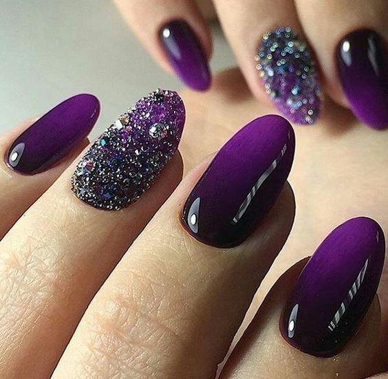 Pantones 2018 Color 15 Ultra Violet Manicure Ideas