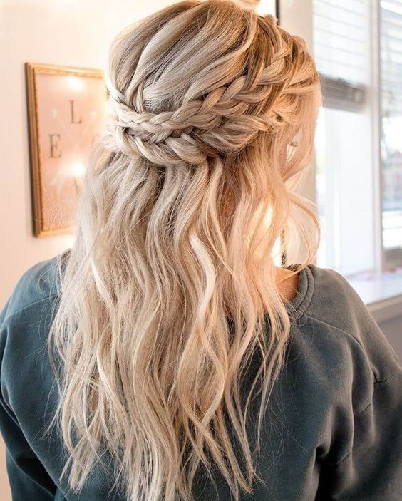 15 Coolest Christmas Braids And Braided Hairstyles Styleoholic