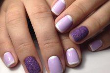 stylish french manicure