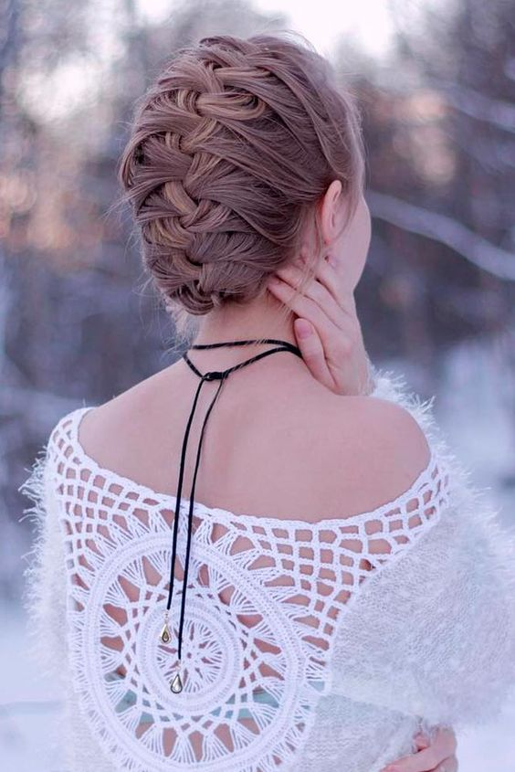 Remarkable Picture Of A Simple Braided Updo Is Suitable Even For Not Very Schematic Wiring Diagrams Phreekkolirunnerswayorg