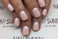 09 a pearly finish will be a nice idea for any girlish manicure