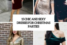 15 chic and sexy dresses for christmas parties cover