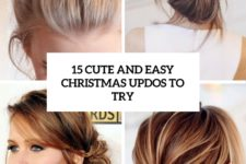 15 cute and easy christmas updos to try cover