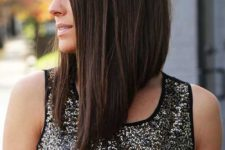 15 if you have asymmetry and layers, you needn't more than some volume on your hair