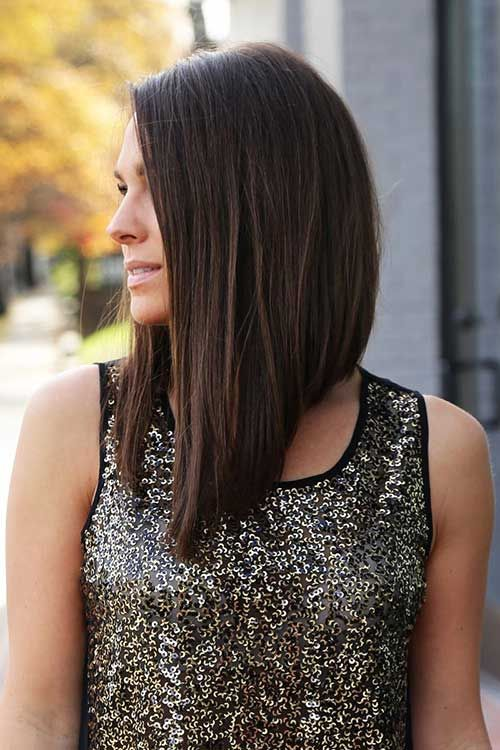 if you have asymmetry and layers, you needn't more than some volume on your hair