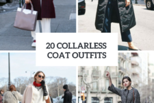 20 Collarless Coat Outfits For Women