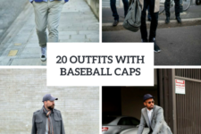 20 Men Outfits With Baseball Caps For This Winter