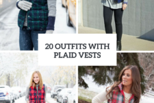 20 Plaid Vest Outfits For This Season