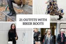 21 Cool Outfits With Biker Boots For This Winter