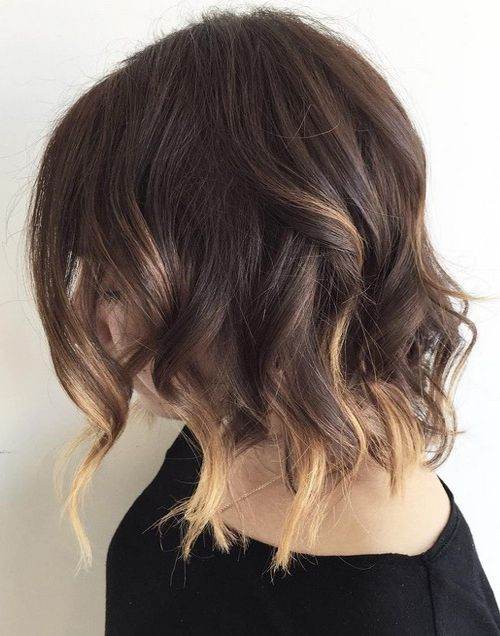15 Trendy And Chic Balayage Ideas On Short Hair , Styleoholic