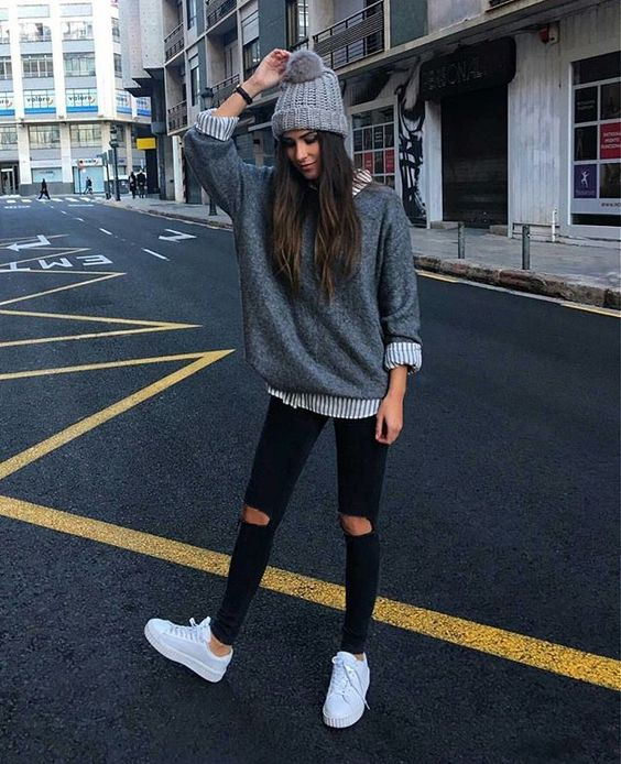44cbe05231c3 15 Awesome Hipster Girls  Outfits For Winter - Styleoholic