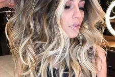 03 brown hair with blonde balayage plus face-framing to highlight the face