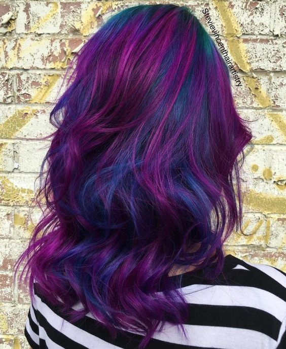 15 Trendy Purple Balayage Hair Ideas Styleoholic