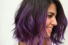 purple ombre for daring girls