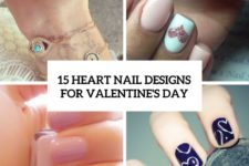 15 heart nail designs for valentine's day cover
