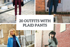 20 Comfy Outfits With Plaid Pants For Women