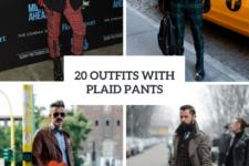 20 Men Outfit Ideas With Plaid Pants