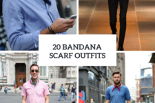 20 Men Outfits With Bandana Scarves