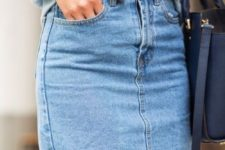 04 if you want a denim skirt, prefer a rough hem and a simple look
