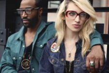 14 become a real IT girl with thick red rimmed glasses like these ones