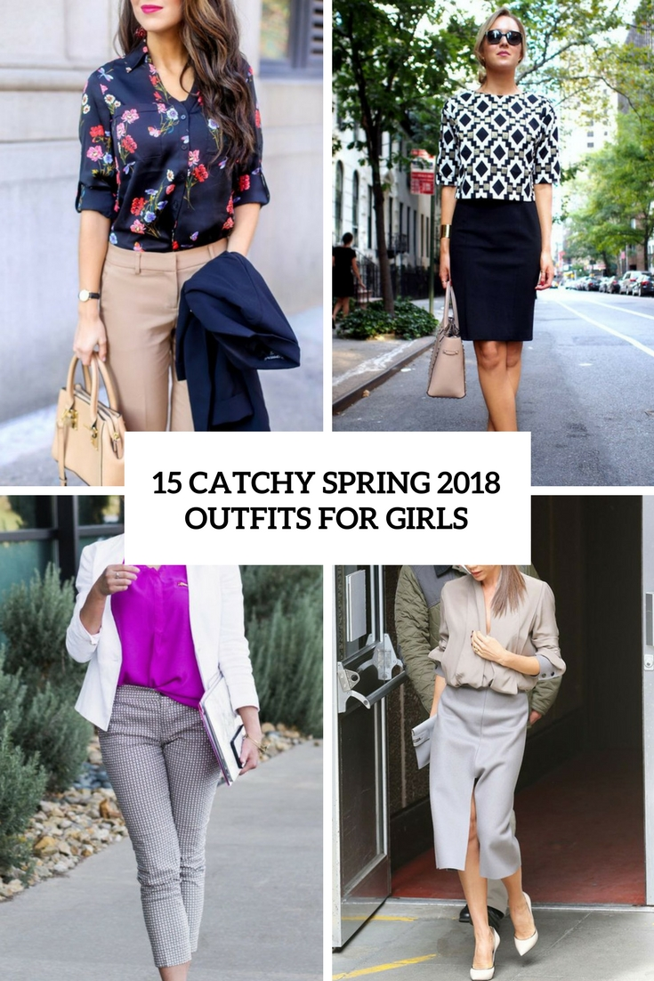 4f8b0a0dd79 15 Catchy Spring 2018 Work Outfits For Girls - Styleoholic