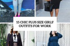 15 chic plus size girls' work outfits cover