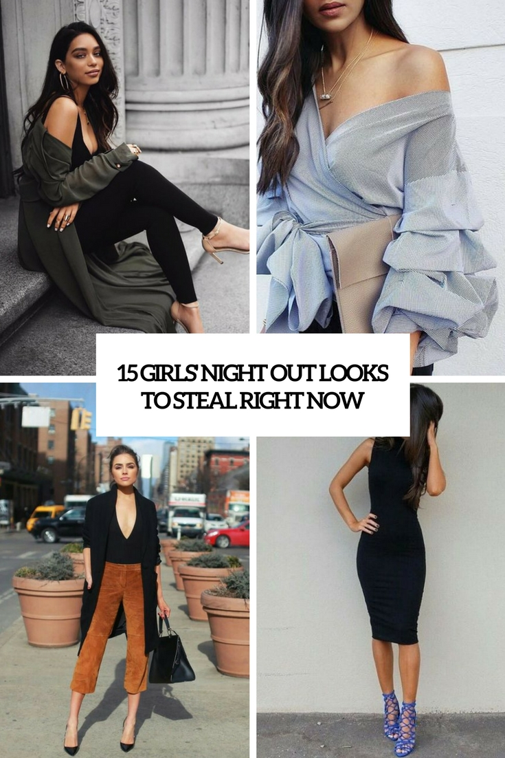 15 Girls' Night Out Looks To Steal Right Now