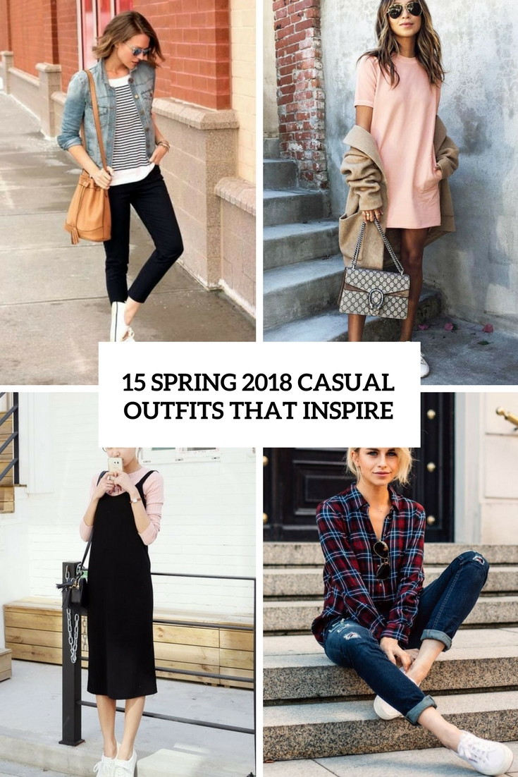 15 Spring Pastel Nail Designs: 15 Spring 2018 Casual Outfits That Inspire