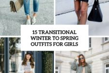 15 transitional winter to spring outfits for girls cover