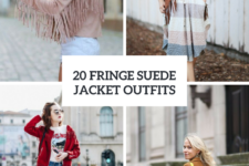 20 Fringe Suede Jacket Outfits To Repeat