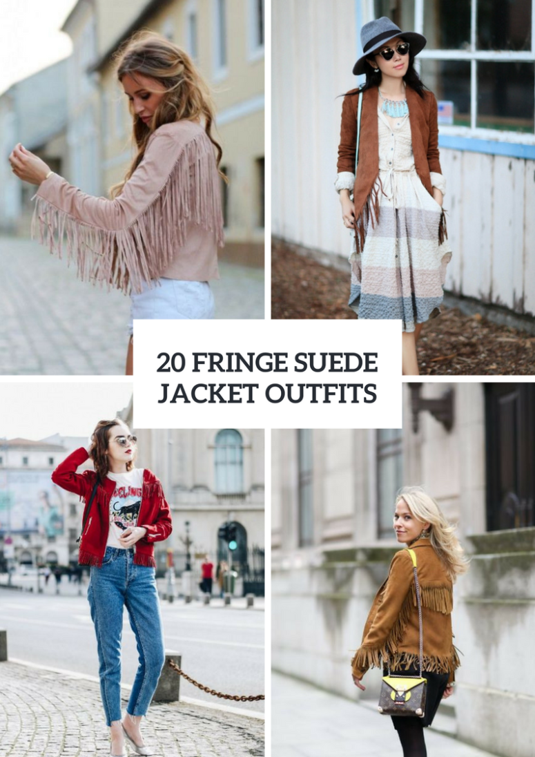 Fringe Suede Jacket Outfits To Repeat