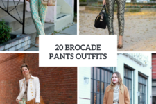 20 Gorgeous Brocade Pants Outfits For Ladies