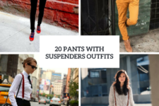 20 Ideas To Wear Pants With Suspenders