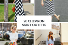 20 Incredible Outfits With Chevron Skirts