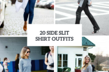 20 Outfits With Side Slit Shirts And Sweaters