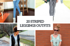 20 Striped Leggings Outfits To Try