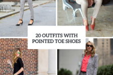 20 Stylish Outfits With Pointed Toe Shoes
