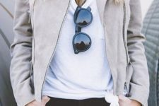 moto jacket look for spring