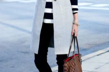 casual spring layered outfit
