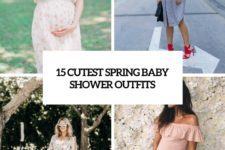 15 cutest spring baby shower outfits cover