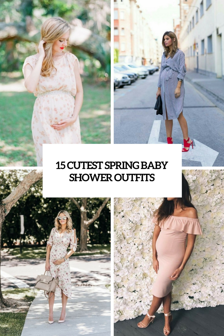 15 Cutest Spring Baby Shower Outfits