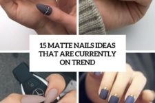 15 matte nails ideas that are currently on trend cover