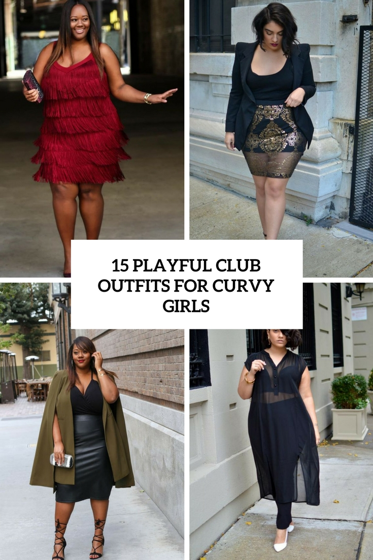 15 Playful Club Outfits For Curvy Girls