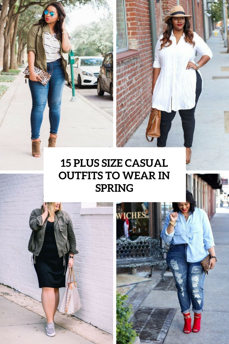 bc6160acaa 15 Plus Size Casual Outfits To Wear In Spring - Styleoholic