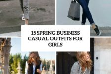 15 spring business casual outfits for girls cover