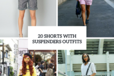 20 Ideas To Wear Shorts With Suspenders