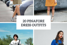 20 Outfits With Pinafore Dresses